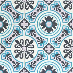 Modern and traditional encaustic cement tiles factory Floor Patterns, Tile Patterns, Mosaic Art, Mosaic Tiles, Cement Tiles, Mosaic Del Sur, Downstairs Loo, Tiles Online, Tiles Texture