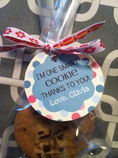 End of Year- Smart Cookie - TEACHER GIFT -