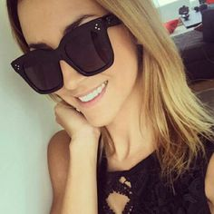 c664d3bf1330 ONE DAY SALE black tilda style sunglasses NOT Celine only for exposure new  with tag will