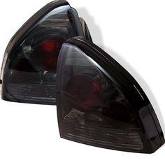 ( Spyder ) Honda Prelude 92-96 Euro Style Tail Lights - Smoke