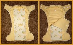 HappilyDomestic- Sewing a fitted cloth diaper.