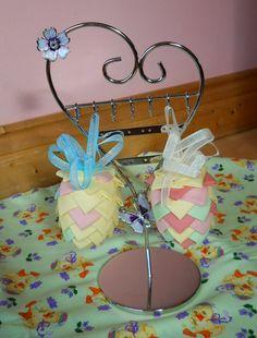 Easter Egg Decoration Handmade Easter Egg Home by ComfyCosyCrafts, $12.00