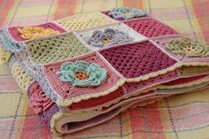 Serendipity Patch: Spring Flower Blanket Ta dah!