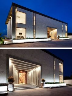 compound wall and gate designs for contemporary - Google Search ...