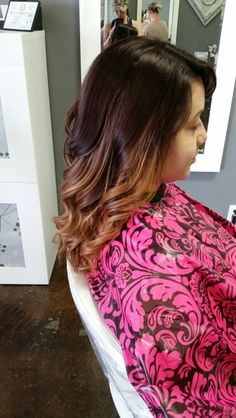 Beautiful bold ombre