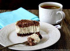 Homemade Marbled Cheesecake