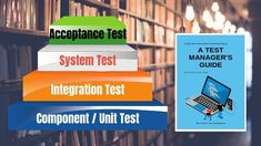 A Test manager knows that there are four Software Test Levels: Component Test; System Test and Acceptance Test. Complex Systems, Software Testing, Integrity, Behavior, Management, The Unit, Behance