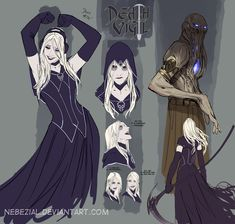 don't fear the reaper XD by nebezial.deviantart.com on @deviantART
