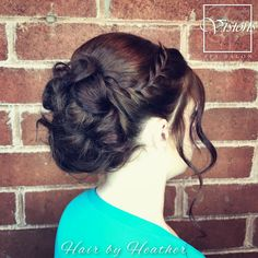 •W E D D I N G S• Heather is at it again with her •B E A U T I F U L• formal finishes! . . . . . . . . #braidstyles #braids #updo #hairstyles #weddinghair #formalhair #bridalhair #michigansalonandspa #michigansalon #stylist #novi #michiganstylist #bridesmaid  #salon #americansalon #modernsalon #visionsspasalon #hairinspo #beautifulhair #formalfinish  #bridesmaids #michiganweddings  #bridalhair #michiganbride #bride #wedding #michiganwedding #bridalparty #weddinginspo #hairinspo #salontoday