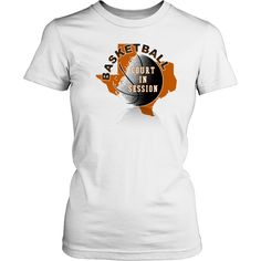 Texas Basketball Court In Session Women's T-shirt Classic Fit