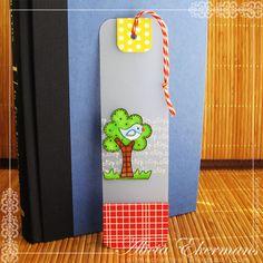 Adorable bookmark ...
