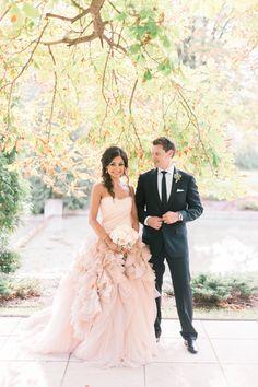 Photography: Blaine Siesser Photography - www.blainesiesser.com/ Read More: http://www.stylemepretty.com/2015/01/02/elegant-cranbrook-gardens-art-museum-wedding/