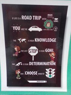 Classroom decor: Peppermint Patty & AVID poster