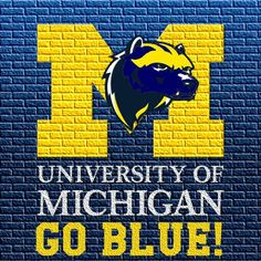 Read More About It's Great to be a Michigan Wolverine! Michigan Gear, Colleges In Michigan, Michigan Go Blue, University Of Michigan, U Of M Football, Michigan Wolverines Football, College Football Teams, Football Uniforms, Football Season