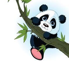 cartoon+pandas | We provide Cartoon Panda Climbing Tree | Custom Printed Blinds