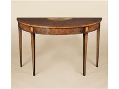 Shop for Holland & Co Demi-Lune Console, 2314, and other Tables at Lee Jofa New in New York, NY. Shown in walnut.