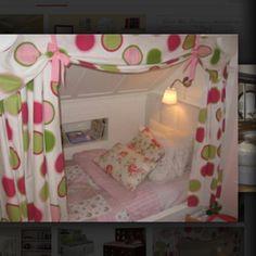 Built in girls beds