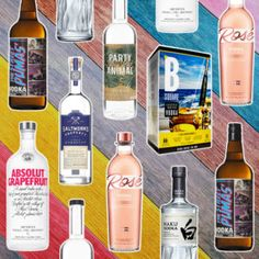 7 Vodka Bottles to Try Right Now B Square Svedka Rose Party Animal Japanese Vodka, Japanese Whisky, Pink Drinks, Summer Drinks, Best Bloody Mary Recipe, Alcoholic Drinks, Cocktails, Cocktail Recipes, Cocktail
