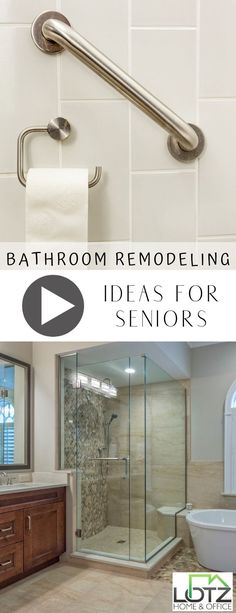 Custom shower seats and grab bars are the two remodeling requests we receive from the majority of our clients. Safety inside the shower is a must for any age. Anyone can use a shower seat to relax on but also to have it if needed. Safety bars are just as valuable. #showerbench #grabbars #aginginplace #lotzofanswers #bathroomdesigns #bathroommakeover #bathroominterior #bathroomideas #bathroomdetails #bathroominspiration #showerdesign #showers #bathroomgoals #bathroomrenovation…