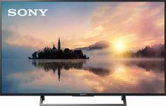 """Sony - 55"""" Class (54.6"""" Diag.) - LED - 2160p - Smart - 4K Ultra HD TV - Front_Zoom"""