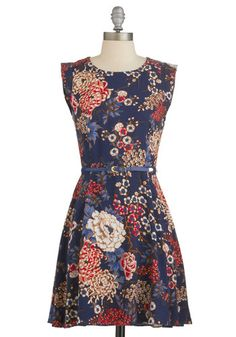 Twilight on the Terrace Dress | Mod Retro Vintage Dresses | ModCloth.com