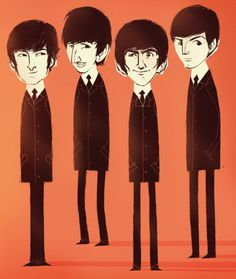 The Beatles by ~peerro