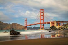 I've seen so many photos of the Golden Bridge but they all seem to be the same shot. I have never seen it from this angle. Thanks George Fletcher.