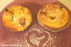 Kalorienarme Muffins aus Quark