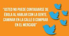 Clases de Periodismo | Campaña en Twitter para acabar con incertidumbre sobre virus del Ébola