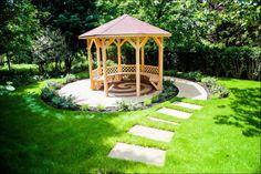 circular garden seating - Google Search