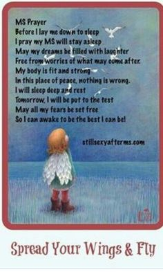 MS prayer for sisters and brothers in chronic pain from multiple sclerosis  <3 #spoonies