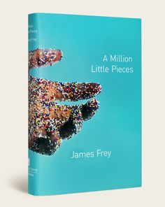 A Million Little Pieces Book Cover by Rodrigo Corral - the book cover that got me into book covers