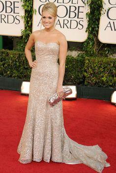 Carrie Underwood Golden Globes 2011