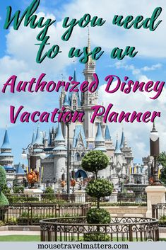 """Benefits of Working With an """"Authorized Disney Vacation Planner"""" Disney World Water Parks, Disney World Vacation, Disney Vacations, Disney Cruise Excursions, Disney Cruise Tips, Disney On A Budget, Disney World Planning, Disney Reservations, Disney Hotels"""