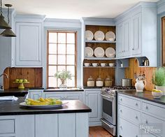 1000 ideas about knotty pine cabinets on pinterest for Better homes and gardens painting kitchen cabinets