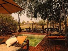 Kanga Tented Camp Kanga Tented Camp is set in the heart of the superb Mana Pools National Park offering tented accommodation. Mana Pools is famous for its