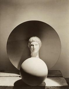 Horst P. Horst - Classical Still Life: Circle, Disk, Bust , 1937