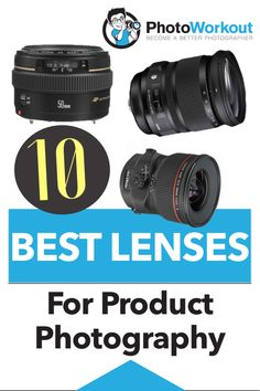 10 Best Lenses for Product Photography. Looking to equip your camera with the best camera lens for y Photography Camera, Photography Business, Amazing Photography, Photography Tips, Product Photography, Best Camera Lenses, Dslr Lenses, Tumblr Photoshoot, Photo Printer
