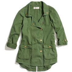 MADEWELL Textile Elizabeth And James® Kelsey Parka ($295) ❤ liked on Polyvore