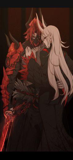 ArtStation - Grimm girls , Bach Do M Anime, Anime Demon, Anime Guys, Anime Art, Fantasy Character Design, Character Concept, Character Inspiration, Character Art, Concept Art