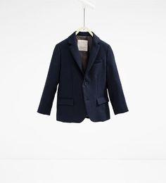 ZARA - KIDS - Piqué suit blazer