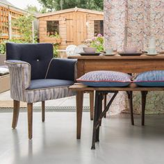 Corinne Webb is shaping the future of furniture. Her home furnishings brand, Frame and Cover, solely uses sustainable materials such as coconut fibre, sheep's wool and hessian and FSC-certified wood. Wing Chair, Hessian, Eames, Home Furnishings, Dining Bench, Upholstery, Wood, Cover, Sheep