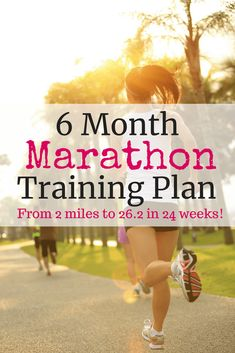 Running Plan Discover 6 Month Marathon Training Plan - Snacking in Sneakers Looking to complete those miles of glory? Use this 6 month marathon training plan to get you across the finish line successfully. First Marathon Training, Marathon Training Plan Beginner, Running Half Marathons, Marathon Tips, Disney Marathon, Marathon Running, Marathon Quotes, Train For Marathon, 50 Mile Training Plan