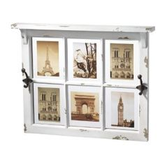 You can make any Photos to arrange a nice area like the Laundry or an entry way with this photo frame with hangers. It will be usefull and vintage decorative at the ?same time!