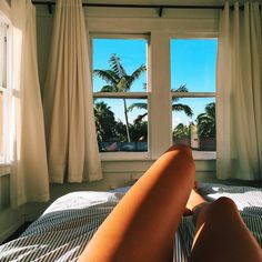 Tan Legs and Paradise