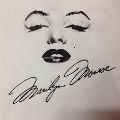 Marilyn Monroe draw