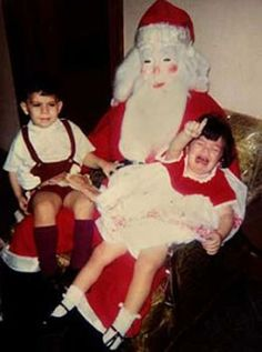 Some Seriously Creepy Santas(17 Pics) - Seriously, For Real?