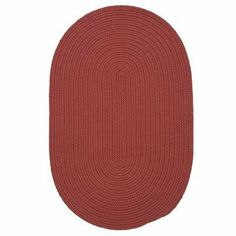 """Boca Raton Terracotta Braided Rug Rug Size: Round 11' by Colonial Mills. $481.53. BR78R132X132 Rug Size: Round 11' Features: -Techinique: Braided.-Material: 100pct Polypropylene.-Origin: USA.-Reversible.-Stain resistant.-Fade resistant. Construction: -Construction: Hand guided. Dimensions: -Pile height: 0.5"""".-Overall Dimensions: 36-156'' Height x 24-108'' Width. Collection: -Collection: Boca Raton."""