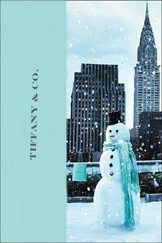 Tiffany & Co.Ad, Snowman,Christmas