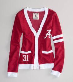 Alabama vintage varsity cardigan @Melanie Robertson do you like this?